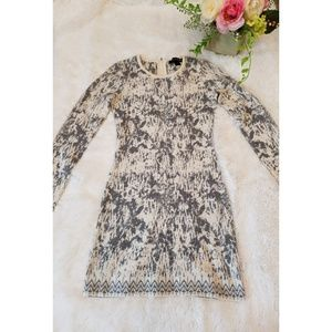 French Connection Angora Blend Sweater Dress